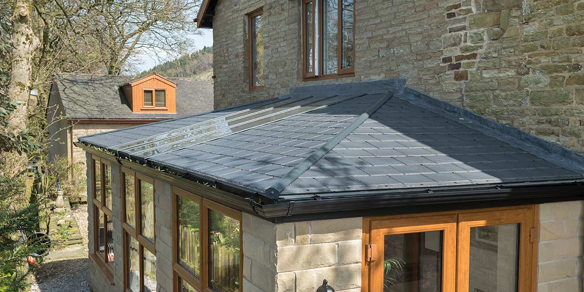 Side Extension Roof Detail